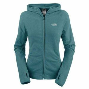 NORTH FACE WOMENS FULL ZIP HOODIE TKA 100 SIZE S